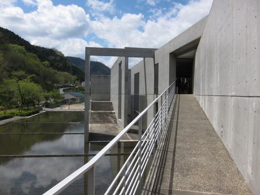 成羽美術館の入口